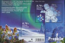 Finnland Block42 (kompl.Ausg.) Postfrisch 2007 Internationales Polarjahr - Finland