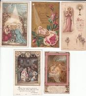 LOT De 10 IMAGES RELIGIEUSES - BOUASSE - Andachtsbilder