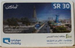 PR55 PREPAGATA - MOBILY SR 30 RIYALS  - N° BO59233409211 - Arabia Saudita