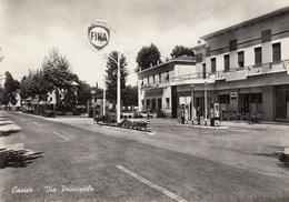 Veneto - Treviso - Casier - Via Principale  - F. Grande - Nuova - Anni 60 - Molto Bella Distributore - Treviso