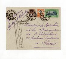!!! RAID HANOI - PARIS 21-24/1/1932 PAR CODOS ET ROBIDA, RECORD DE TEMPS - Air Post