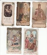 LOT De 10 IMAGES RELIGIEUSES - Andachtsbilder