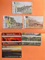 Suisse Switzerland - Petit Lot De 6 Cartes Neuves ( MINT ) Valeur 80 CHF -  3 Sous Blister - Svizzera