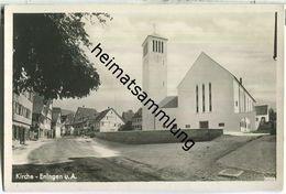 Eningen - Kirche - Foto-Ansichtskarte - Verlag R. Griner Eningen - Otros