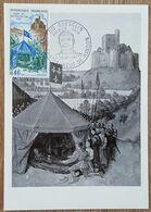CM 1968 - YT N°1578 - BERTRAND DU GUESCLIN - CHATEAUNEUF DE RANDON - Cartes-Maximum