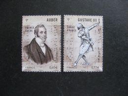 TB Paire N° 4706 Et N° 4707, Neufs XX. - Unused Stamps