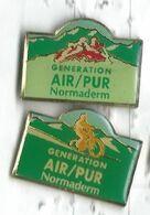 Normaderm Génération Air Pur Cycliste Vélo - Rafting Lot 2 Pins - Parfum
