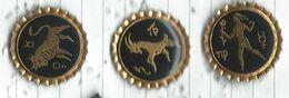Signe Zodiaque Taureau Bélier Vierge Lot 3 Pins - Pins