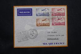 FRANCE - Enveloppe De La 100ème Traversée De L 'Atlantique Sud En 1936 Pour Buenos Aires , Affranchissement PA - L 64871 - Correo Aéreo