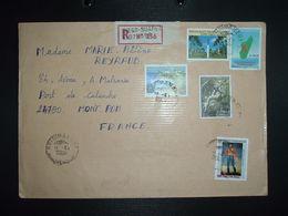 LR à FRANCE TP TAMATAVE 6.000 Fmg+FORT DAUPHIN 5.000 Fm2+RADAMA I 500 Fmg + 3000 FOBL.14-4 2006 ANTSIRANANA DIEGO SUAREZ - Madagascar (1960-...)