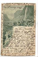 CPA-Carte Postale-Suisse- Lauterbrunnen-1899 VM19208 - BE Berne