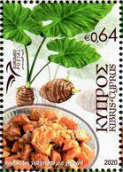 Cyprus - 2020 - Euromed - Traditional Mediterranean Food - Mint Stamp - Zypern (Republik)