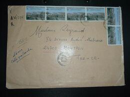 LETTRE Pour La FRANCE TP BUREAU DE LA JICA 1.500 Fmg X6 OBL.27-1 2006 DIEGO (SUAREZ) - Madagascar (1960-...)