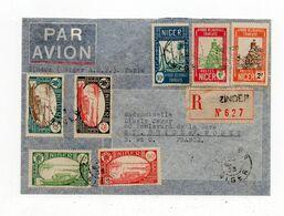 !!! ESSAI D'EXPLOITATION POSTALE ALGER - ZINDER 14 MARS - 8 MAI 1933 - Air Post
