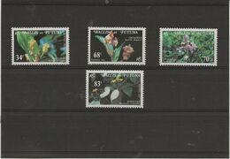 WALLIS ET FUTUNA - SERIE FLORE N° 286 A 289 - NEUVE CHARNIERE -ANNEE 1982 - Unused Stamps