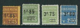 FRANCE Colis Postaux N° Entre 119 & 126 ** - Neufs
