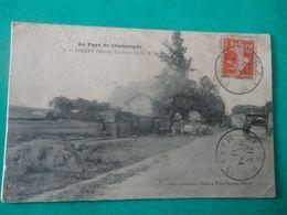 CPA -  PIERRY - LA GARE DU C.B.R. - France