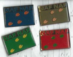 Naf Naf Lot 4 Pins - Marche