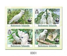 Salomon 2013, WWF, Parrot, BF DeLuxe IMPERFORATED - Salomoninseln (Salomonen 1978-...)