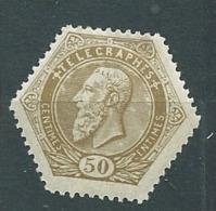 Belgique  Telegraphe   Yvert N° 13 * -  Pa 18215 - Telegraph