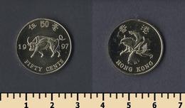 Hong Kong 50 Cents 1997 - Hong Kong