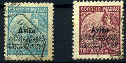 Macao Aéreos Nº 5/6. Año 1936 - Other