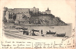 FR66 CERBERE - Py Oliver - Précurseur - La Plage - Pêcheurs Remaillant Les Filets - Animée - Belle - Cerbere