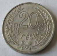URUGUAY - 20 Centesimos 1965 - Alu - - Uruguay