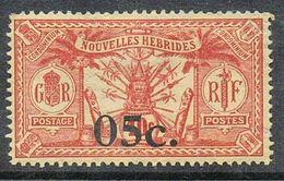 NOUVELLES-HEBRIDES N°60 N* - Légende Française