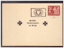 Dt.- Reich (009935) Propaganda Deutsche Sondermarken Im Kriege Mit MNR 863 Gestempelt Berlin Am 9.11.1943 - Germany