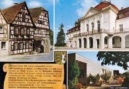 1 AK Germany / Baden-Württemberg * Chronikkarte Der Stadt Marbach Am Neckar Mit Wappen Und Schillers Geburtshaus * - Marbach