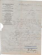 1880 LA FERTE-sous-JOUARRE - MEULES A MOULINS - DUPETY, THEUREY, GUEUVIN, BOUCHON & Cie Pour LA SÔNE - 1800 – 1899