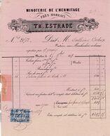 29-T.Estrade...Minoterie De L'Hermitage....Morlaix...(Finistère)...1879 - France