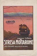 ITALIE Ligne Ferroviaire Stresa-Mottarone Horaires Au 1 Er Juin 1923 - Europa