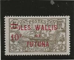 WALLIS ET FUTUNA  - N° 38 NEUF INFIME CHARNIERE -ANNEE 1924-27 - COTE : 43 € - Unused Stamps