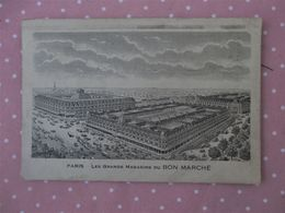 Carte Commerciale_GRANDS MAGASINS DU BON MARCHE - PARIS - Voyagé En 19 Decembre 1926 - France