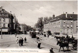 BERN  BUDENBERGPLATZ PLACE BUBRNBERG  En 1908 - BE Berne