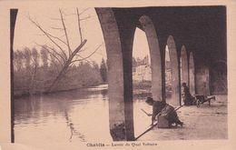 CHABLIS (Yonne) - Lavoir Du Quai Voltaire    -- édition Houesson - Chablis