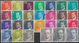 ESPAÑA 1982/1990 Nº 2386P/2607P SERIE USADA FOSFORO (GARANTIZADA) (REF.02) - 1931-Aujourd'hui: II. République - ....Juan Carlos I