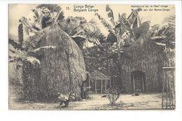 25616 - Entier Postal Congo Belge Habitations Sur Le Haut Congo - Congo Belge - Autres