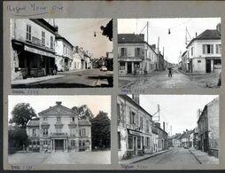 60, Nogent Sur Oise, 4 Cpsm Montées Sur 1 Carton De Presentation D'editeur De Cartes Postales,gendarme Faisant La Circul - Nogent Sur Oise