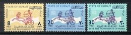 Kuwait 1964, UNESCO Save The Monuments Of Nubia **, MNH - Kuwait