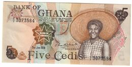 GHANA5CEDIS02/01/1978P15UNC.CV. - Ghana
