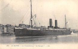 20-9146 :  LE HAVRE. PAQUEBOT. LA GASCOGNE - Dampfer