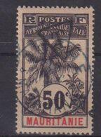 MAURITANIE : T N° 7 . OBL .  TB .  SIGNE . 1906 . ( CATALOGUE YVERT ) . - Mauritanie (1906-1944)