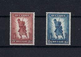 Série 351/52 Infanterie Neuf ** MNH   Superbe.  Scan Recto/verso. - Belgique