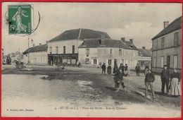 -- BU (Eure Et Loir) - PLACE DES HALLES / RUE DU CHÂTEAU / Petite Animation -- - Autres Communes