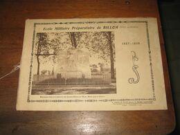 63 / BILLOM / Album Photo De L'école De Préparation Militaire  De BILLOM   1928/ 1929 - Documenti Storici