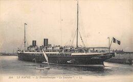 20-9175 :  LE HAVRE. PAQUEBOT. LA TOURAINE - Piroscafi