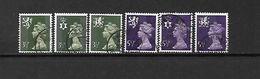 1974 - GRAN BRETAGNA - N. 711/16-720-721/24-729/32-733/34-735/38-739/41 USATI (CAT UNIFICATO) - Used Stamps
